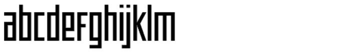 Offroad Regular Font LOWERCASE