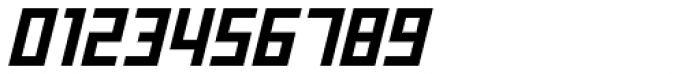 Offroad Wide Bold Oblique Font OTHER CHARS