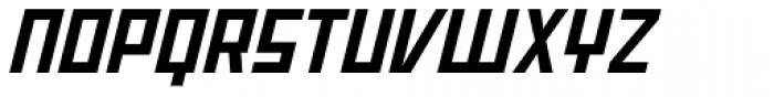 Offroad Wide Bold Oblique Font UPPERCASE