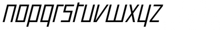 Offroad Wide Book Oblique Font LOWERCASE
