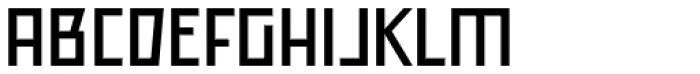 Offroad Wide Regular Font UPPERCASE
