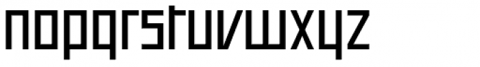 Offroad Wide Regular Font LOWERCASE