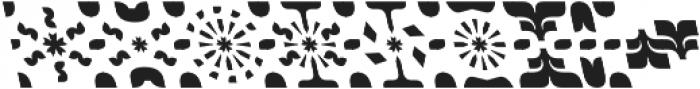 Ogonyok ornament Retalic ttf (400) Font UPPERCASE