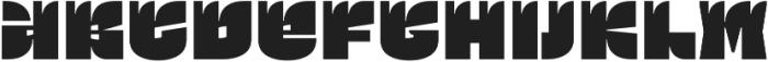 Ogonyok ttf (400) Font LOWERCASE