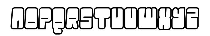 Oggle Font UPPERCASE