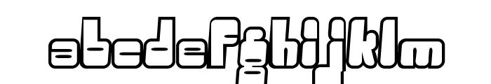 Oggle Font LOWERCASE