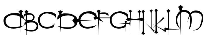 Ogilvie Regular Font UPPERCASE