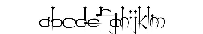 Ogilvie Regular Font LOWERCASE