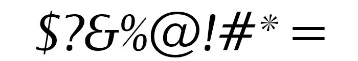 OgiremaItalic Font OTHER CHARS