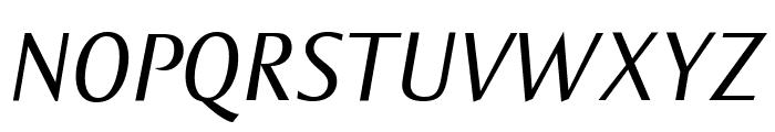 OgiremaItalic Font UPPERCASE