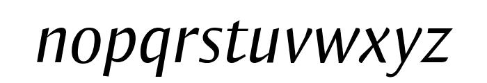 OgiremaItalic Font LOWERCASE