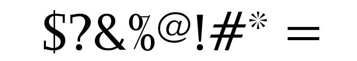 OgiremaSlab Font OTHER CHARS