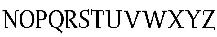 OgiremaSlab Font UPPERCASE