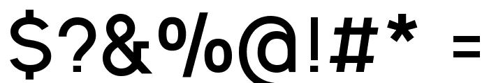 Ogonek Bold Font OTHER CHARS