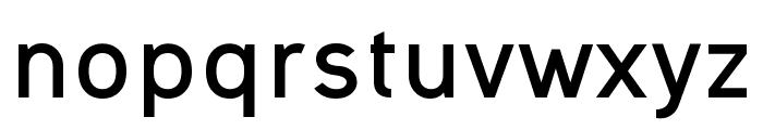 Ogonek Bold Font LOWERCASE