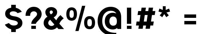 Ogonek Heavy Font OTHER CHARS