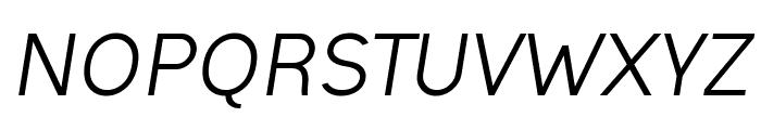 Ogonek Italic Font UPPERCASE