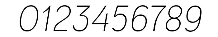 Ogonek Light Italic Font OTHER CHARS