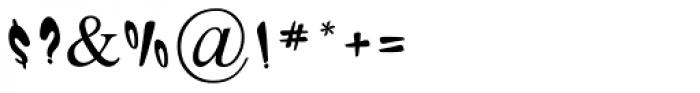 Ogdan MF Medium Font OTHER CHARS