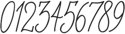 OHBlue Waves otf (400) Font OTHER CHARS