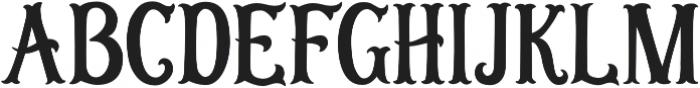 OHSeashells otf (400) Font UPPERCASE