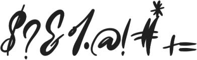 Oh Mistletoe Bold otf (700) Font OTHER CHARS