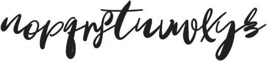 Oh Mistletoe Bold otf (700) Font LOWERCASE