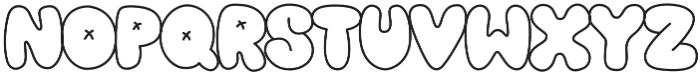Oh Snap otf (400) Font UPPERCASE