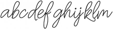 Oh Wonder Upright otf (400) Font LOWERCASE
