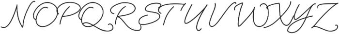 Oh wonder otf (400) Font UPPERCASE