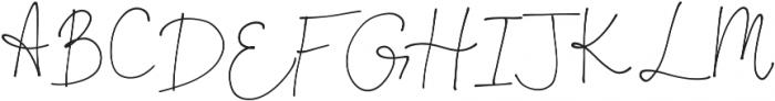 OhDarling Regular ttf (400) Font UPPERCASE