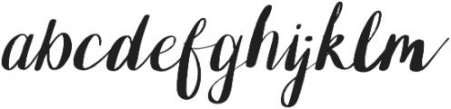 OhPrettyPlease Hand Lettered otf (400) Font UPPERCASE
