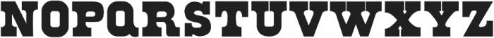 Ohio Regular ttf (400) Font LOWERCASE