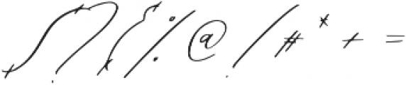 oh jasmine otf (400) Font OTHER CHARS