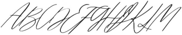 oh jasmine otf (400) Font UPPERCASE