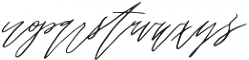 oh jasmine otf (400) Font LOWERCASE