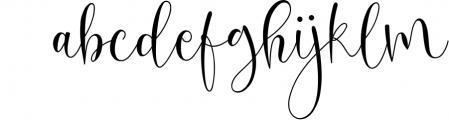 Oh Beloved Script Font LOWERCASE