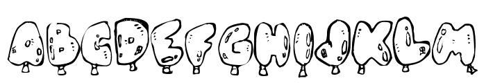 Oh, Balloney Font UPPERCASE
