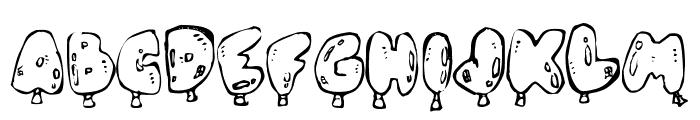 Oh, Balloney Font LOWERCASE