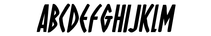 Oh Mighty Isis Bold Italic Font UPPERCASE