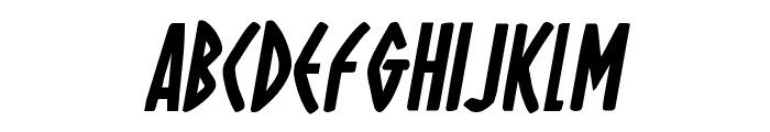 Oh Mighty Isis Bold Italic Font LOWERCASE