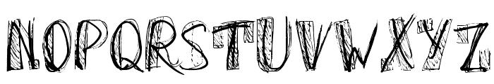 OhGodWhy-Regular Font UPPERCASE