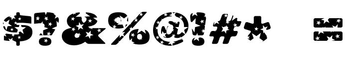 OhMyGodStars Font OTHER CHARS