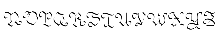 OhMyGoth Font UPPERCASE