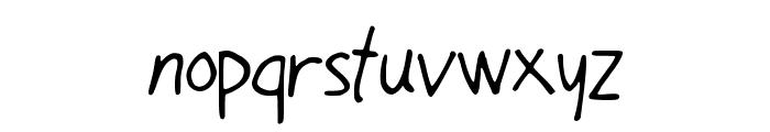 OhMyGouache Font LOWERCASE
