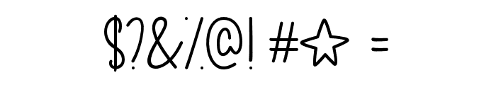 OhMyItsJuly Font OTHER CHARS