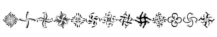 OhRosetta Font UPPERCASE
