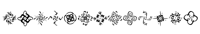 OhRosetta Font LOWERCASE