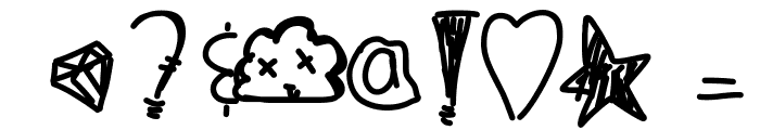OhStormy Font OTHER CHARS
