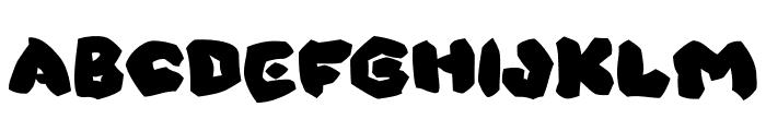 OhThat Shark Font UPPERCASE
